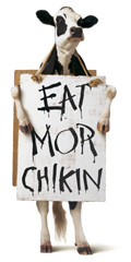 Chick-fil-A cow ad